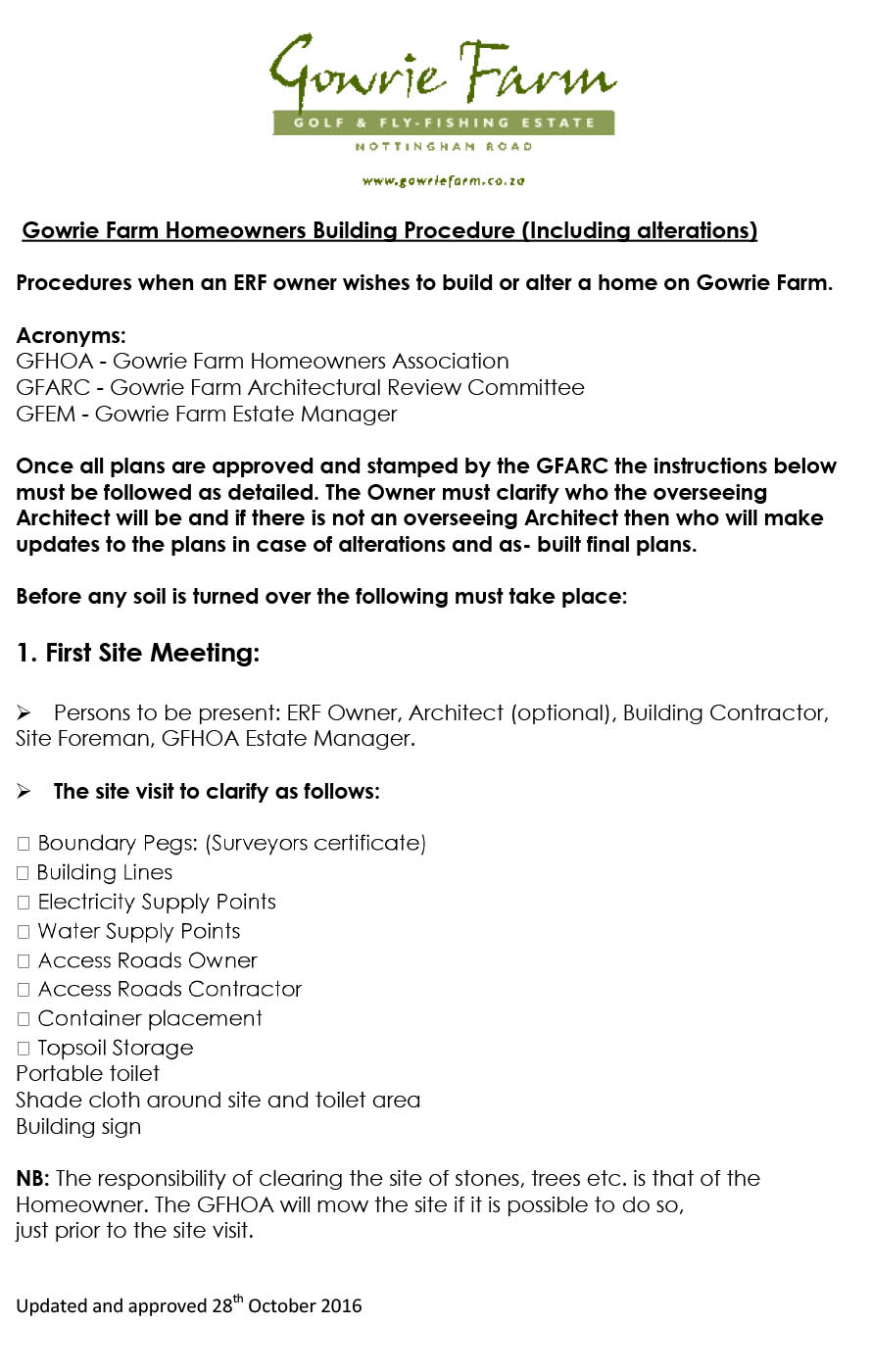 Procedures-to-build-on-Gowrie-Farm-updated-28th-September-2016